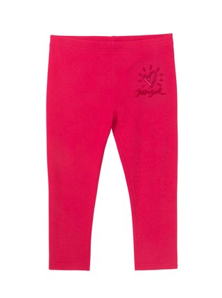 Desigual růžové dívčí legíny Legging Nerja