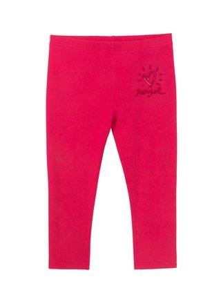 Desigual ružové legíny Legging Nerja