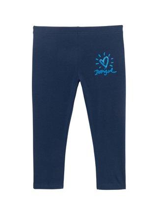 Desigual modré legíny Legging Nerja