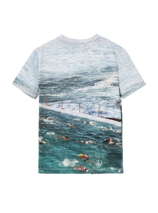 Desigual modré chlapčenské tričko TS Julio