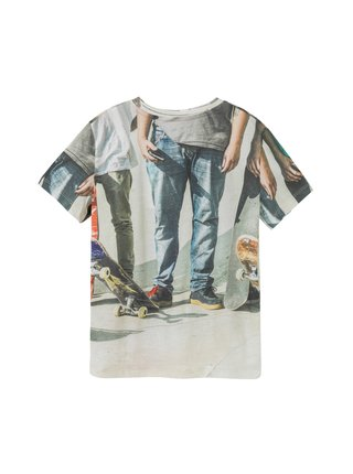 Desigual barevné chlapecké tričko TS Jurgen