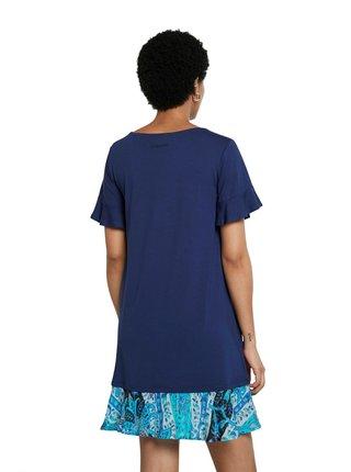Desigual modré šaty