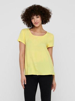 Žltá blúzka ONLY
