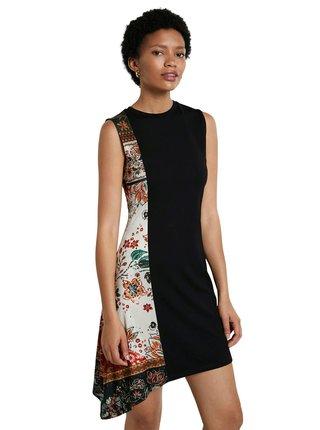 Desigual černé šaty Vest Thaiyu