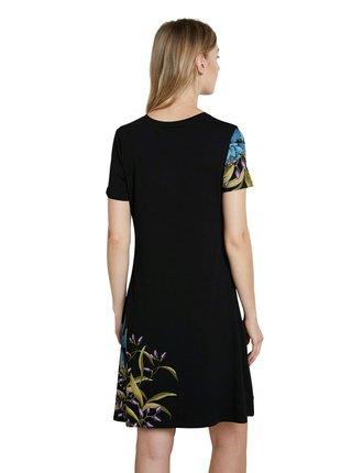 Desigual černé šaty Vest Las Vegas