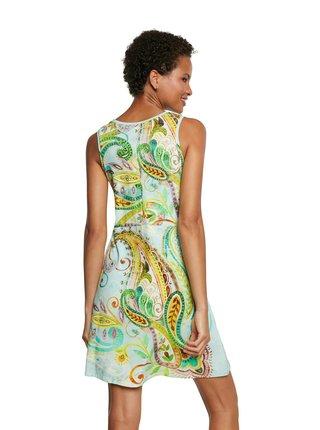 Desigual farebné šaty Vest Ivy