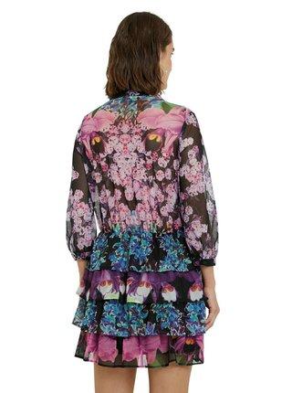 Desigual barevné šaty Vest Olimpia