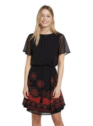 Desigual černé šaty Vest Tampa
