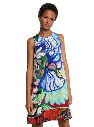 Desigual barevné šaty Vest Orleans