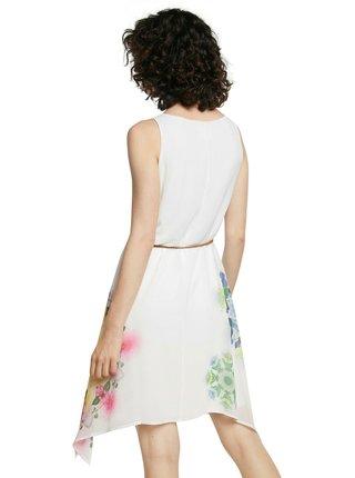 Desigual biele šaty Vest Shen