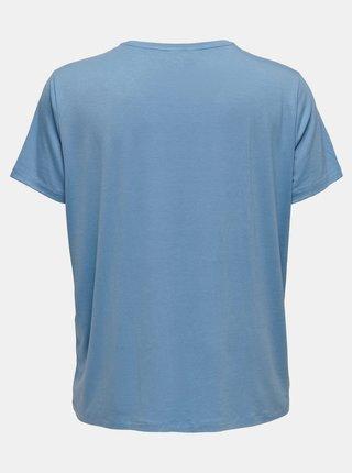 Modré tričko ONLY CARMAKOMA