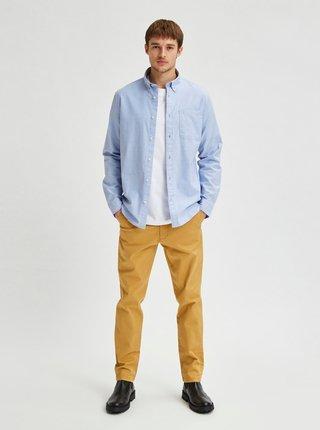 Svetlomodrá košeľa Selected Homme Regrick