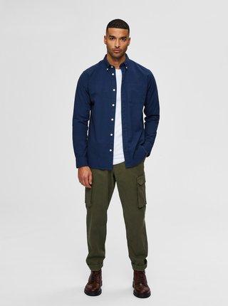 Tmavě modrá košile Selected Homme Regrick