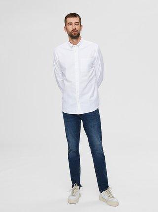 Biela košeľa Selected Homme Regrick