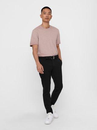 Ružové tričko ONLY & SONS Millenium
