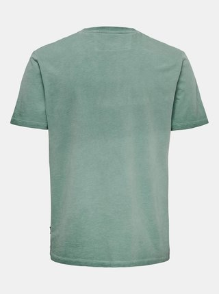Zelené tričko ONLY & SONS Millenium