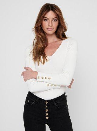 Bílý svetr Jacqueline de Yong Plum