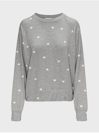 Šedé dámské tričko na spaní GAP