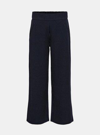 Tmavě modré pruhované široké kalhoty Jacqueline de Yong Louisville