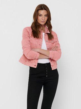 Ružová rifľová bunda Jacqueline de Yong Windy