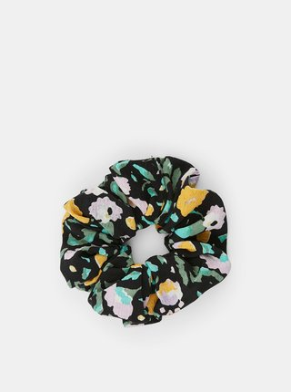 Černá vzorovaná gumička Pieces Julle