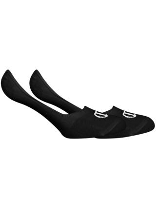 CHAMPION FOOTIE SOCKS LEGACY 2x - Nízké neviditelné ponožky s logem Champion 2 páry - černá