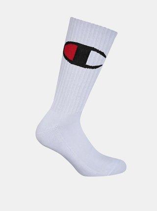 CREW SOCKS ROCHESTER BIG C - Vyšší módní sportovní ponožky 1 pár - bílá