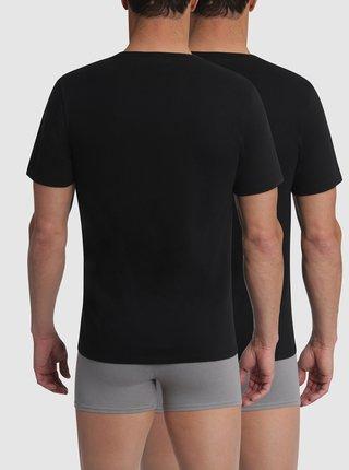 T-SHIRT CHAMPION CREW NECK 2x - 2 ks Champion bavlněné triko - černá