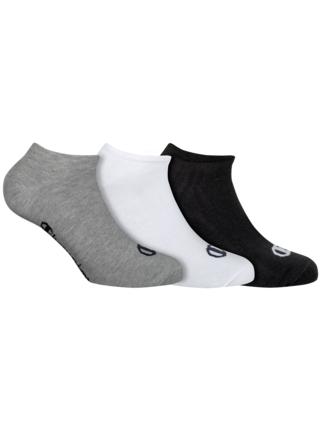 CHAMPION NO SHOW SOCKS LEGACY 3x - Nízké sportovní ponožky 3 páry - černá - bílá - šedá