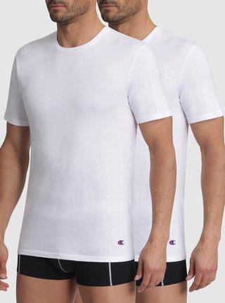 T-SHIRT CHAMPION CREW NECK 2x - 2 ks Champion bavlněné triko - bílá