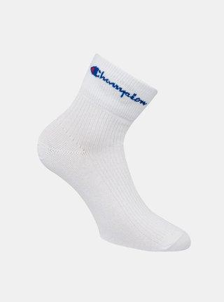 CHAMPION ANKLE ROCHESTER REVERSE SOCKS - Sportovní kotníkové ponožky 1 pár - bílá