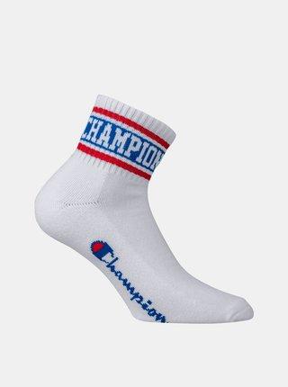 Športové členkové ponožky 1 pár - biela - červená - modrá CHAMPION ROCHESTER