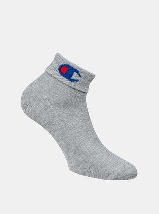 CHAMPION ANKLE ROCHESTER REVERSE SOCKS - Sportovní kotníkové ponožky 1 pár - grey