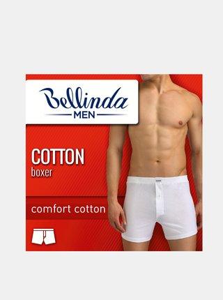 Pánské boxerky COTTON BOXER - Volné pánské bavlněné boxerky - černá