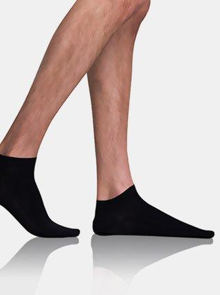 Pánské nízké ponožky BAMBUS AIR IN-SHOE SOCKS - Krátké pánské bambusové ponožky - černá