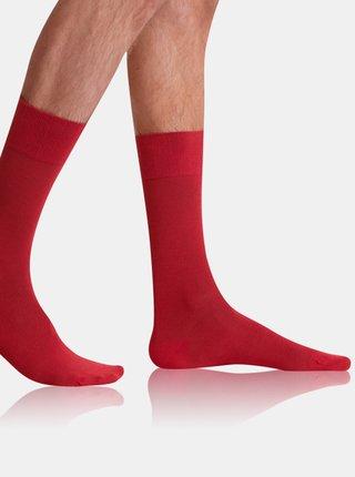 Pánské ponožky BAMBUS COMFORT SOCKS - Bambusové klasické pánské ponožky - oranžová