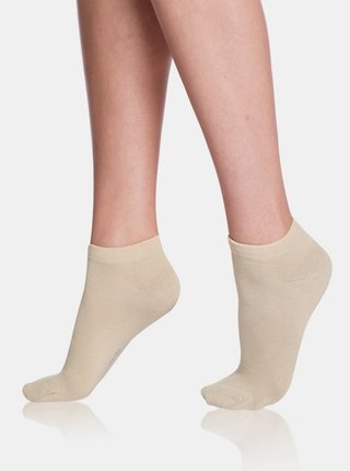 Dámské nízké ponožky IN-SHOE SOCKS - Krátké dámské ponožky - béžová