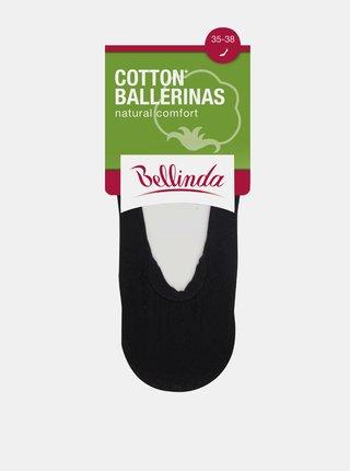 Dámské bavlněné balerínky COTTON BALLERINAS - Dámské bavlněné ponožky vhodné do balerínek - amber