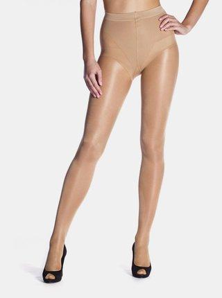 Punčochové kalhoty FIGURA 25 DEN - Zeštíhlující punčochové kalhoty - amber