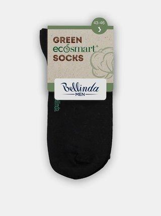 Pánske ponožky z bio bavlny - čierna Bellinda GREEN ECOSMART