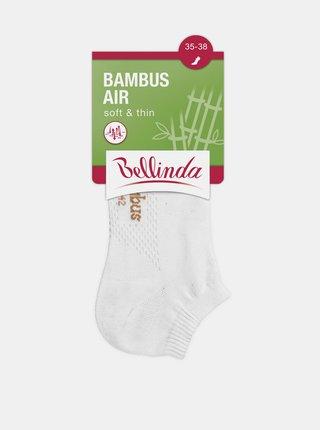 Dámské kotníkové ponožky BAMBUS AIR LADIES IN-SHOE SOCKS - Krátké dámské bambusové ponožky - bílá