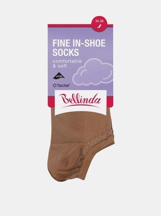 Dámské ponožky FINE IN-SHOE SOCKS - Dámské nízké ponožky - amber