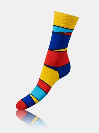 Bláznivé ponožky CRAZY SOCKS BOX - Dárková krabička zábavných crazy ponožek 4 páry - zelená