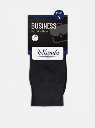 Pánske ponožky BUSINESS SOCKS - Pánske business ponožky - šedá