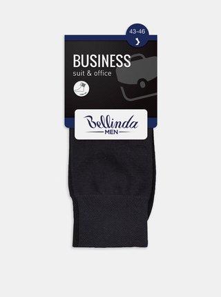 Pánské ponožky BUSINESS SOCKS - Pánské business ponožky - hnědá