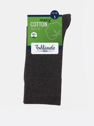 Pánské ponožky COTTON MAXX MEN SOCKS - Pánské bavlněné ponožky - šedá