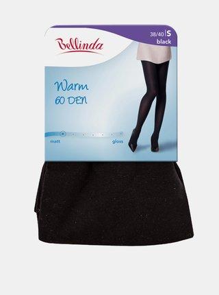 Dámské punčocháče WARM 60 DEN - Zimní punčochové kalhoty - černá