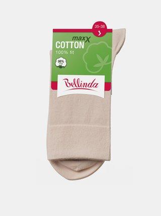Dámské ponožky COTTON MAXX LADIES SOCKS - Dámské bavlněné ponožky - béžová
