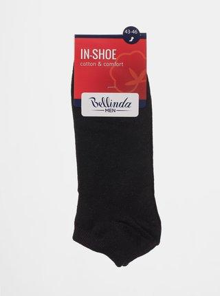Pánské nízké ponožky IN-SHOE SOCKS - Krátké pánské ponožky - modrá
