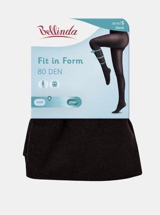 Punčochové kalhoty FIT IN FORM 80 DEN - Punčochové kalhoty pro podporu nohou - černá